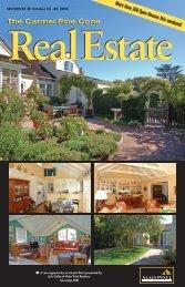 Carmel Pine Cone, October 24, 2008 (real estate) - The Carmel Pine ...