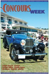 To download the August 14, 2009, special section, Concours Week ...