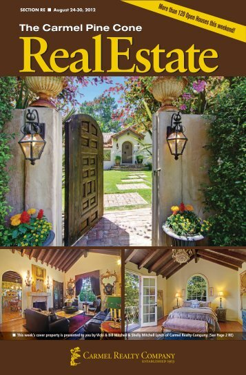 Carmel Pine Cone, August 24, 2012 (real estate) - The Carmel Pine ...