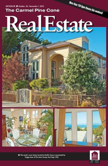 Carmel Pine Cone, October 26, 2012 (real estate) - The Carmel Pine ...