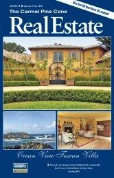 Carmel Pine Cone, September 19, 2008 (real estate) - The Carmel ...