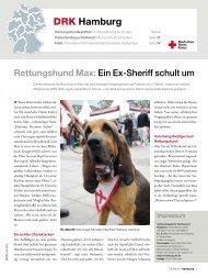Rotkreuzmagazin 4 / 2010 - DRK Landesverband Hamburg ev