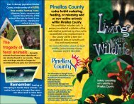 Living with Wildlife Brochure - Pinellas County