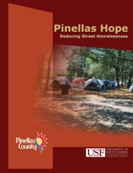 School Of Social Work And The - Pinellas County