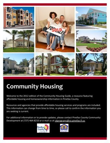 Community Housing - Pinellas County