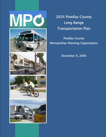 2035 Pinellas County Long Range Transportation Plan