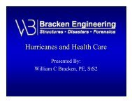 Hurricanes and Health Care - Pinellas County