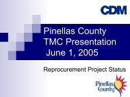 Presentation - Pinellas County