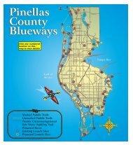 Blueways Map 1 - Pinellas County