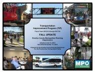 Transportation Improvement Program (TIP) - Pinellas County