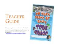 the Teacher Guide - No Such Place as Away ... - Pinellas County