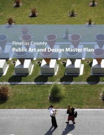 Pinellas County Public Art and Design Master Plan
