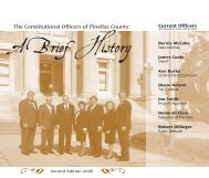 History of the Constitutional Officers - Pinellas County