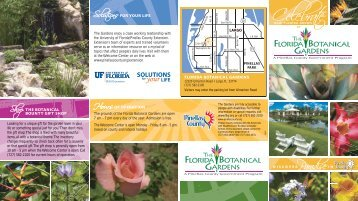 the Botanical Bounty gift shop - Pinellas County