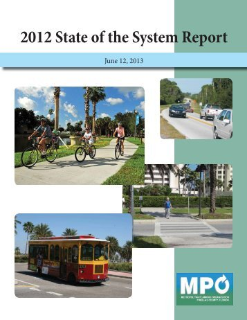 State of the System (SOS) Report - Pinellas County