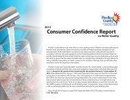 Pinellas County DEI 2012 Consumer Confidence Report