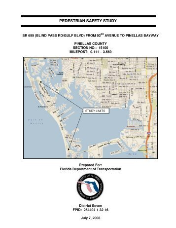 St. Pete Beach Pedestrian Safety Study - Pinellas County