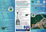 programma coro - ANA Sezione di Pinerolo - Associazione ...