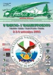 Giugno 2005 - ANA Sezione di Pinerolo - Associazione Nazionale ...