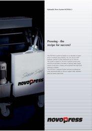Pressing - the recipe for success! - Pinhol