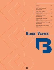 GLOBE VALVES - Pinhol