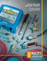 Haltec catalogue - RLM Distributing