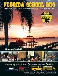 Directory 2009/10 - Florida Association for Pupil Transportation