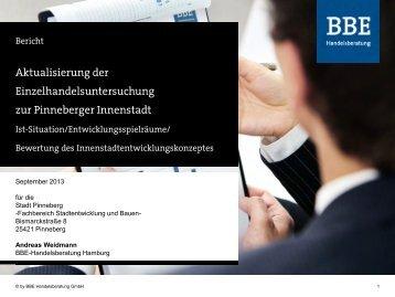 I Markt- und Standortanalyse - Stadt Pinneberg