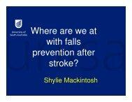 Mackintosh,_shylieFalls_a... - Falls Prevention in SA
