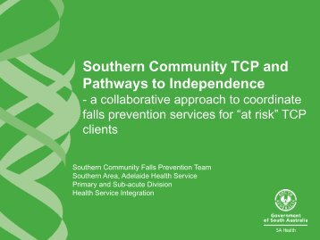 Southern Community TCP and Pathways to Independence - Falls ...