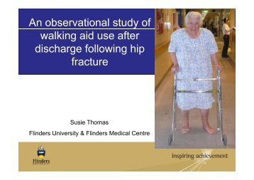 An observational study of walking aid use after discharge following ...