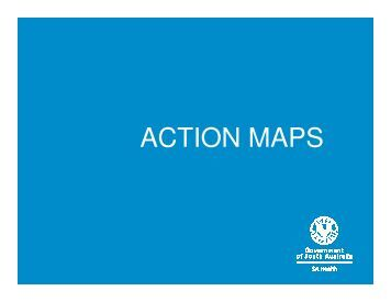 ACTION MAPS - Falls Prevention in SA