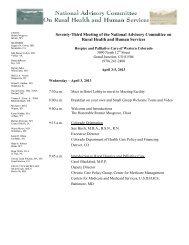 April 3-5, 2013, Grand Junction, CO - HRSA