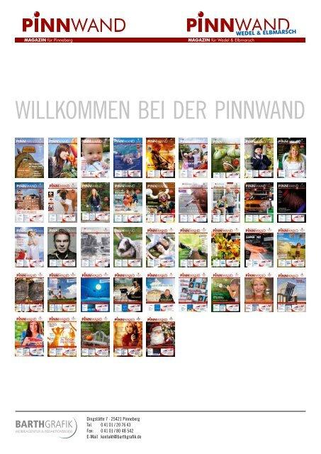 Willkommen bei der PinnWand - Pinnwand Magazin