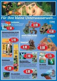 Für Ihre kleine Unterwasserwelt... U-Boot - egesa-zookauf eG