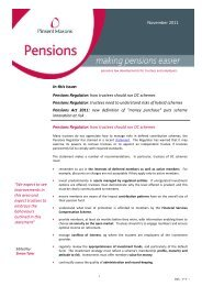 In this issue: November 2011 - Pinsent Masons