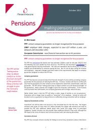 In this issue: October 2011 - Pinsent Masons