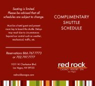 Complimentary Shuttle Schedule - e-Courts 2012