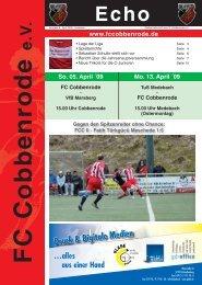 Ausgabe 8 - FC Cobbenrode 1926 eV