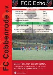 Ausgabe 27 - FC Cobbenrode 1926 eV