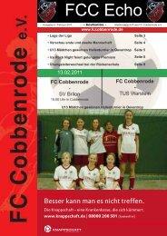 Ausgabe 26 - FC Cobbenrode 1926 eV