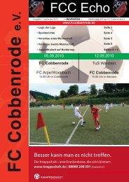 Ausgabe 22 - FC Cobbenrode 1926 eV