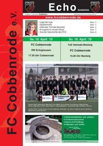 Ausgabe 17 - FC Cobbenrode 1926 eV