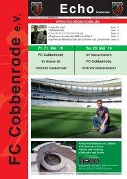 Ausgabe 19 - FC Cobbenrode 1926 eV