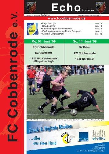 Ausgabe 10 - FC Cobbenrode 1926 eV
