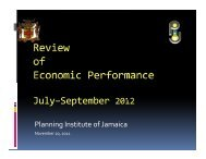 Review of Economic Performance, July–September 2012 - Planning ...