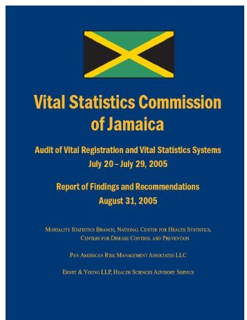Vital Statistics Commission of Jamaica - Planning Institute of Jamaica