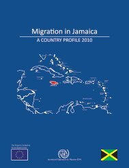 Migration in Jamaica: A Country Profile 2010 - Planning Institute of ...