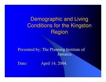 St. Catherine - Planning Institute of Jamaica