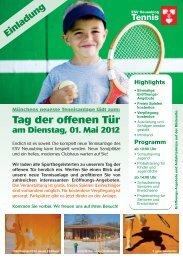 Flyer Tennis 2112 scnuppertennis 08 - ESV Neuaubing